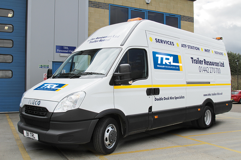TRL Maintenance Vehicle